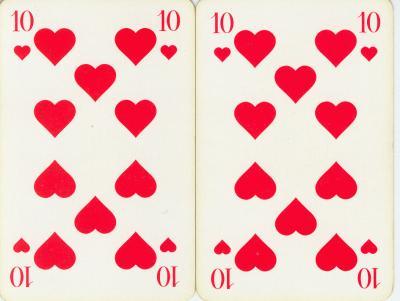 Doppelkopf Herz 10